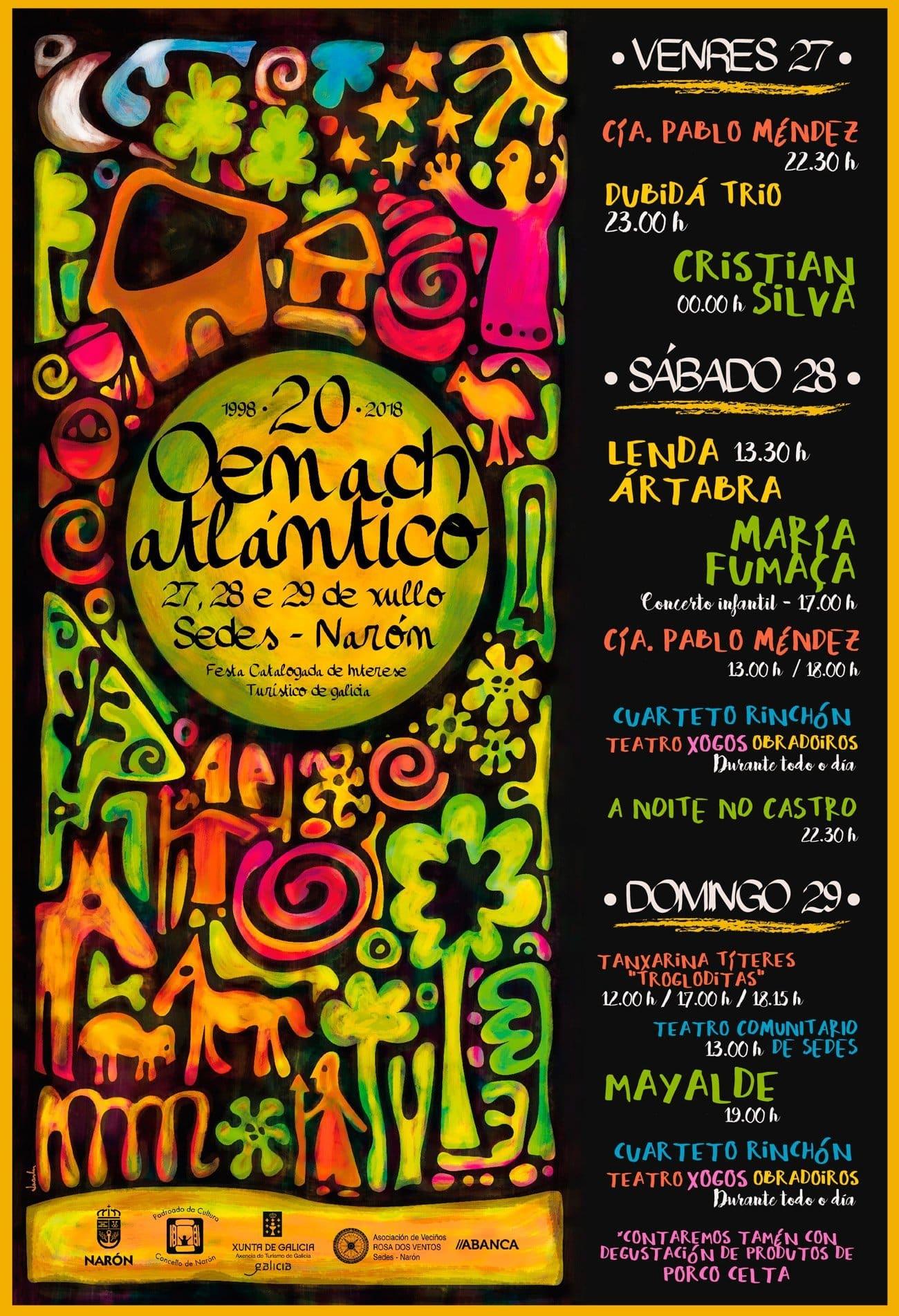 20 aniversario do Oenach Atlántico