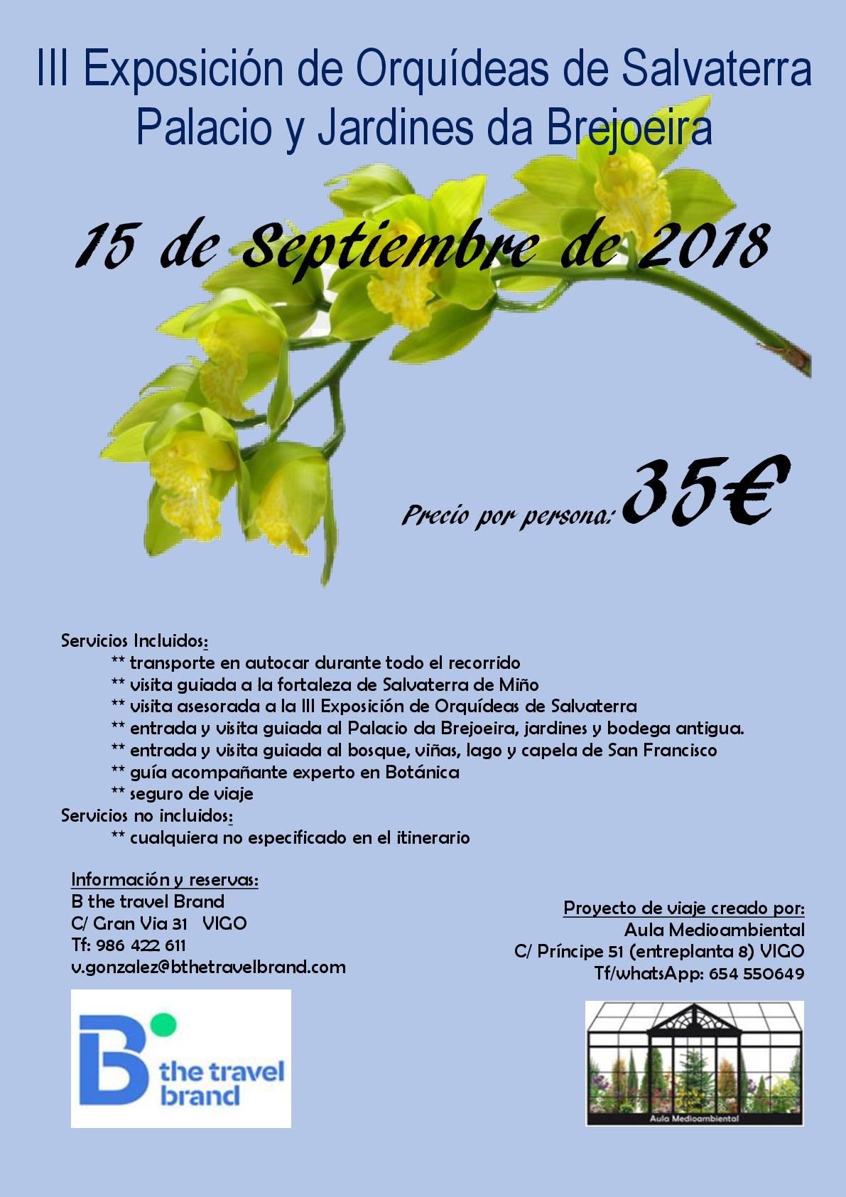 exposición Internacional de Orquideas de Salvatierra