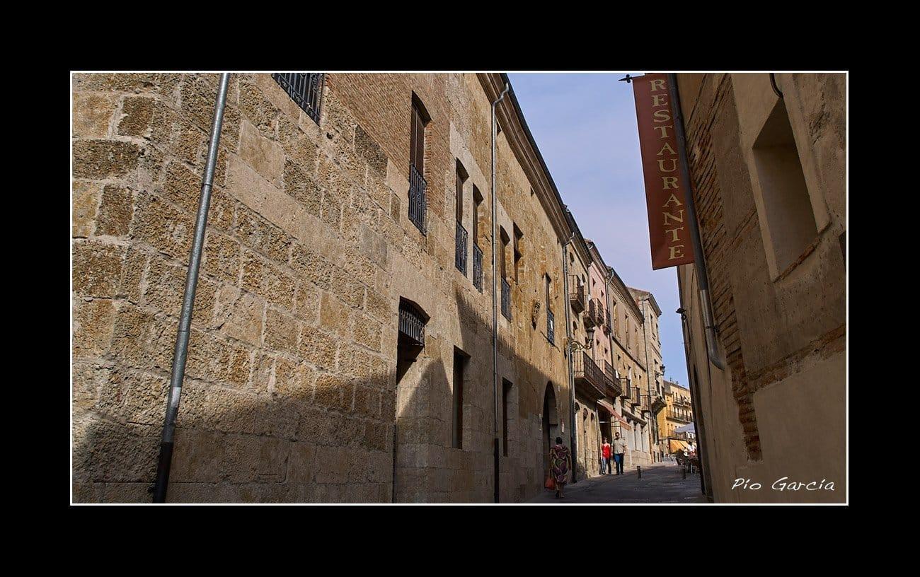 Calle Colada Ciudad Rodrigo