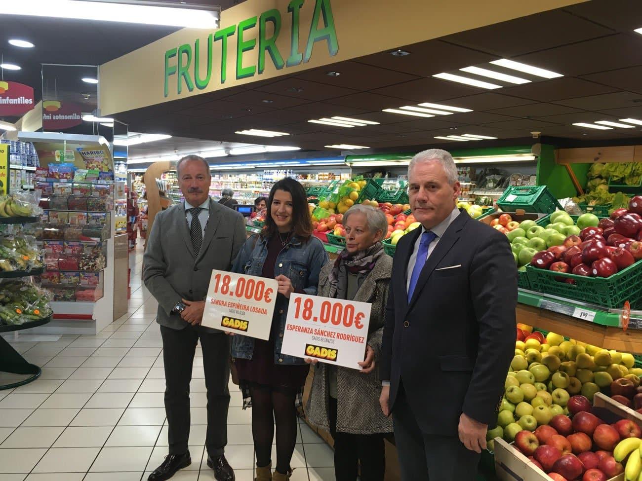 gadis entrega 36.000 euros en dos sueldos
