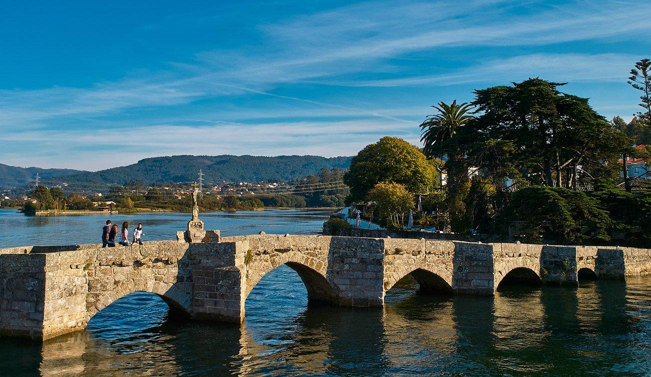 El puente románico de A Ramallosa