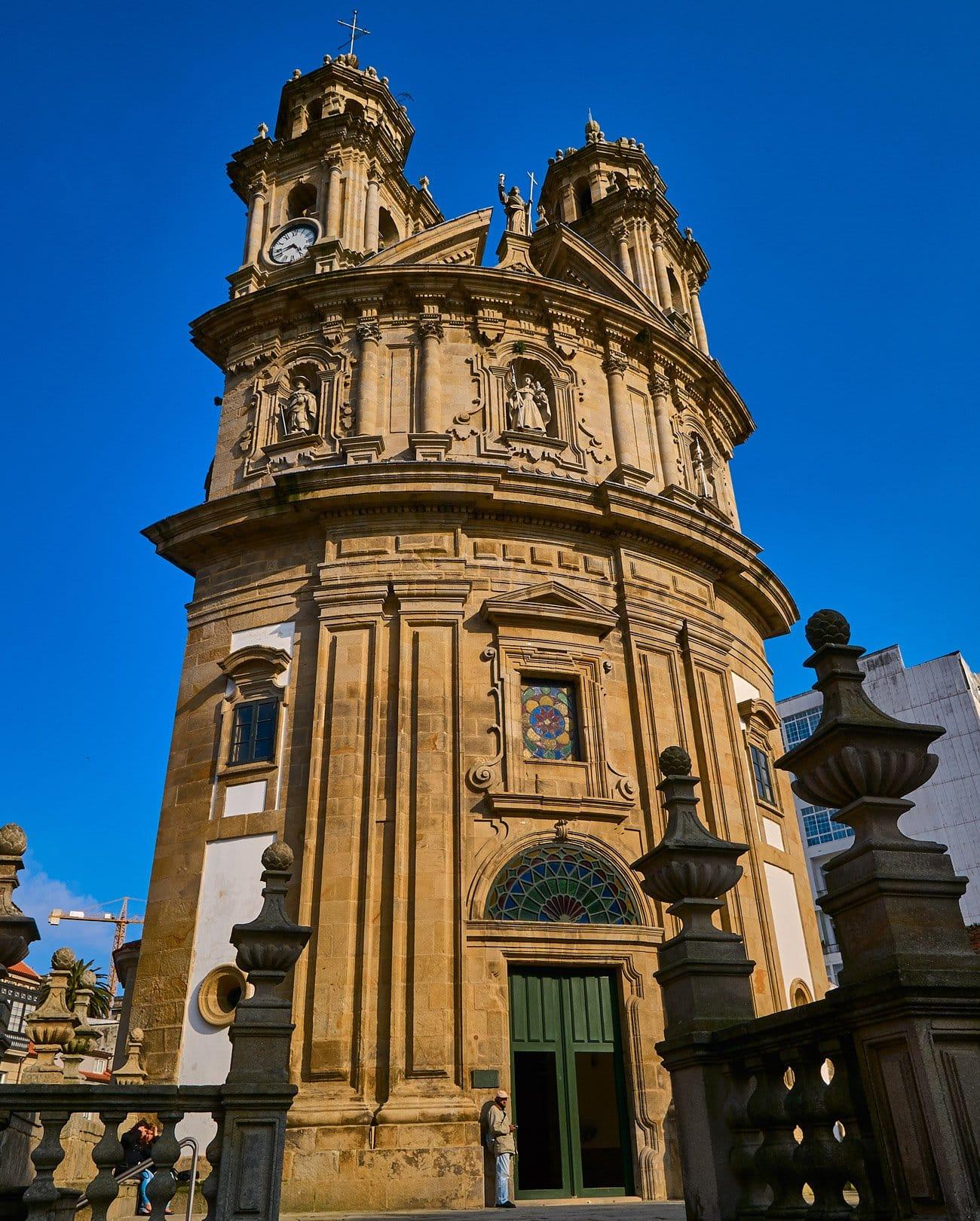 Iglesia de La Peregrina: Camino de Santiago portugués