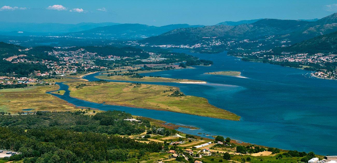 Rio Miño: Camino de Santiago portugués