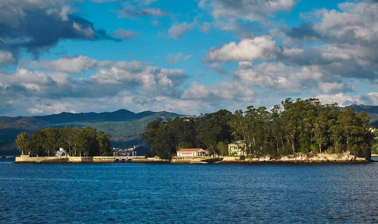 Qué ver en Vigo: Islas de San Simón y San Antón