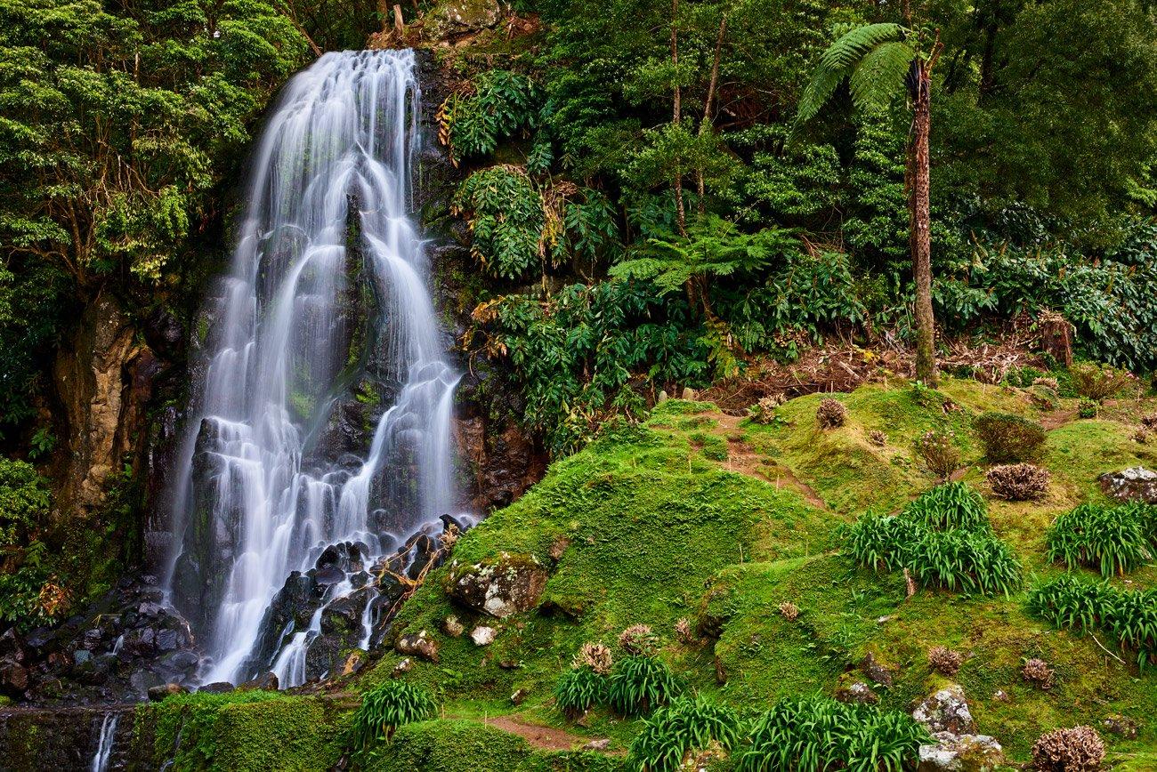 Parque Natural da Ribeira dos Caldeirões - Azores