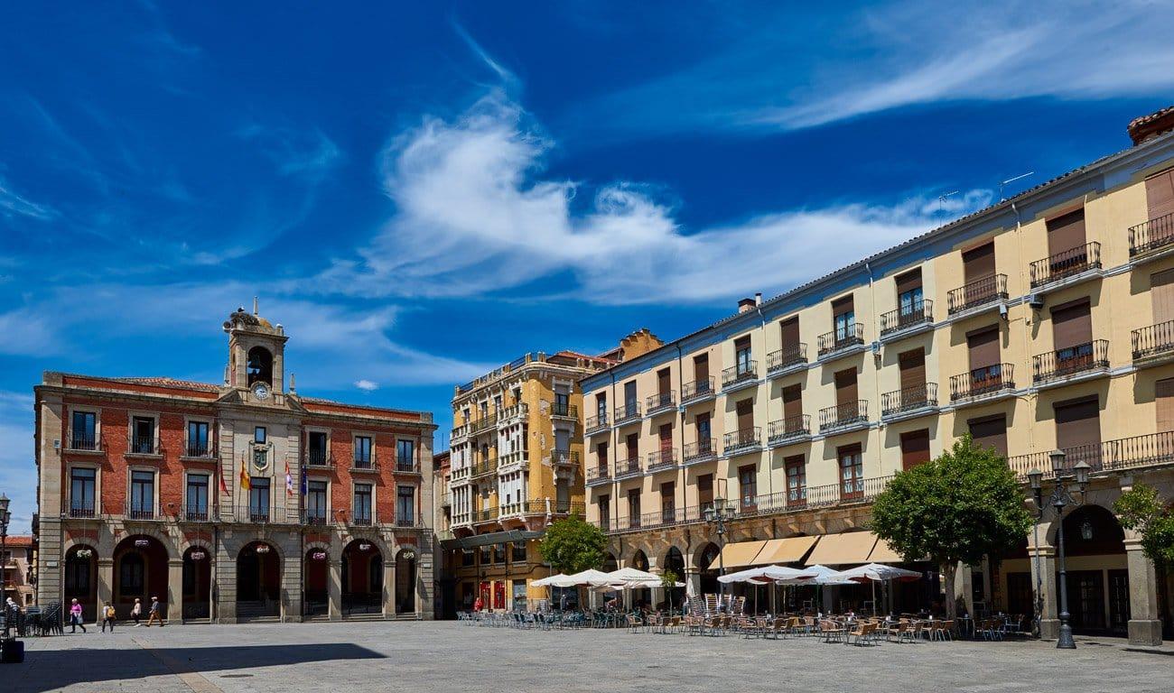 Plaza mayor - Zamora