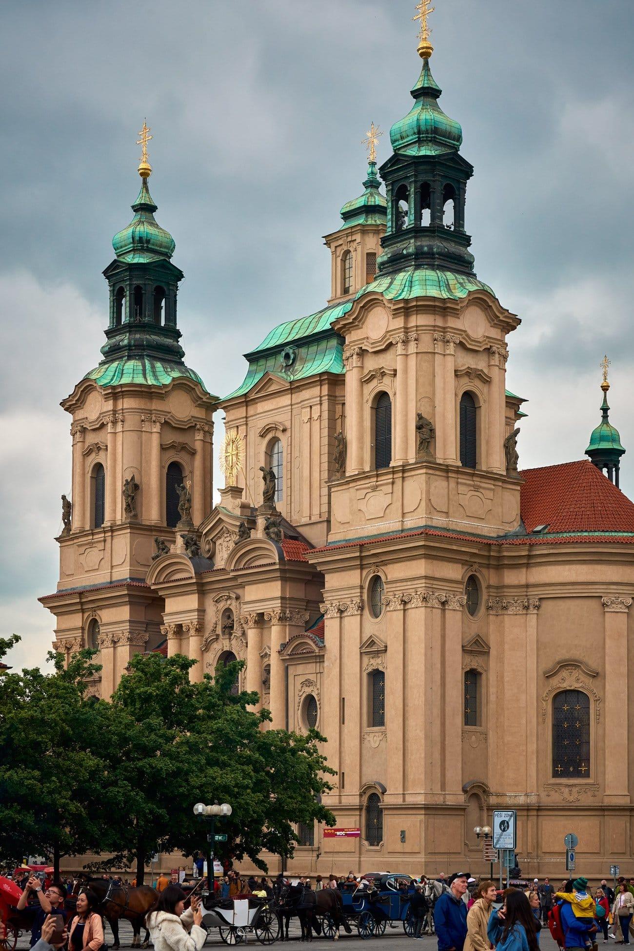 Iglesia de san Nicolás - Praga