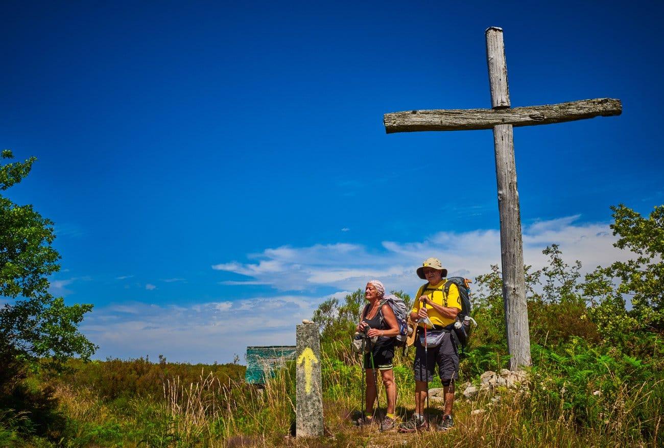 cruz de madera del monte Talariño