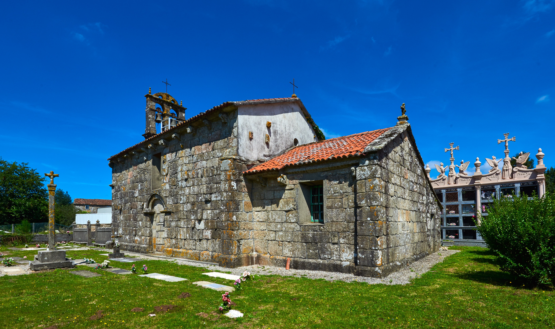 Santa Mariña de Maroñas, en Mazaricos
