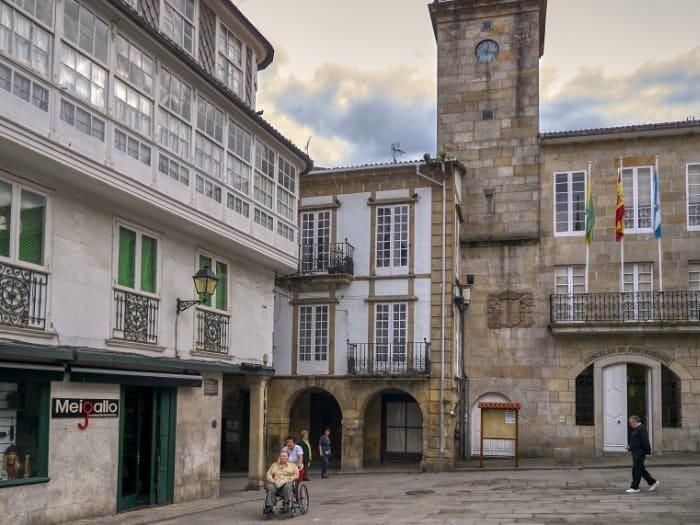 Torre de Los Andrade - El Camino de Santiago inglés