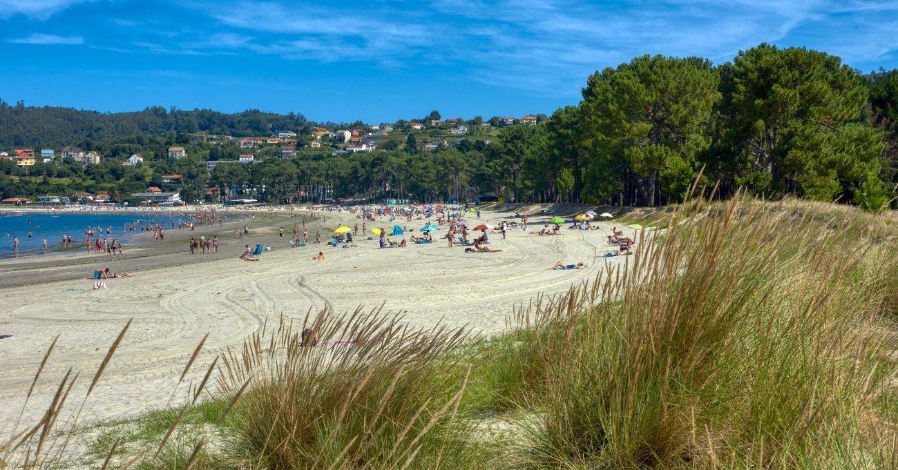 Playa de A Madalena - Cabanas