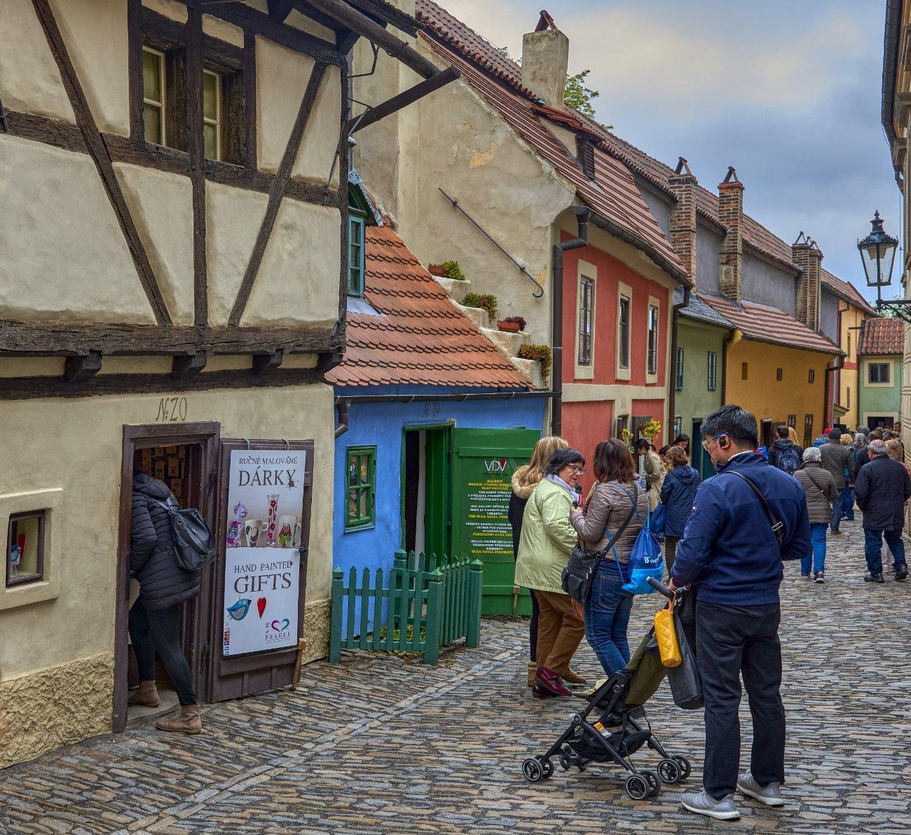 Callejón del oro Praga