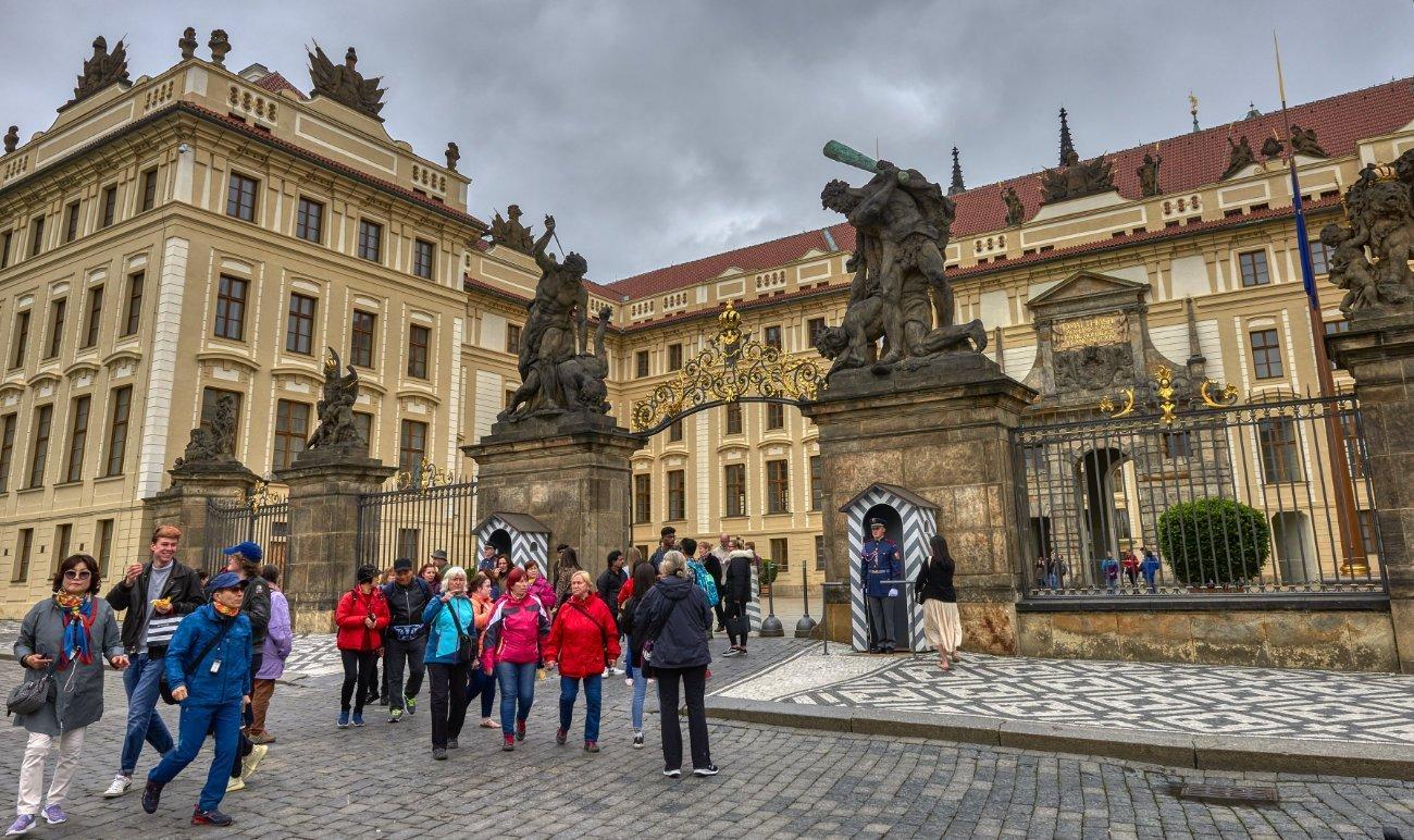 Plaza Hradčanské Praga