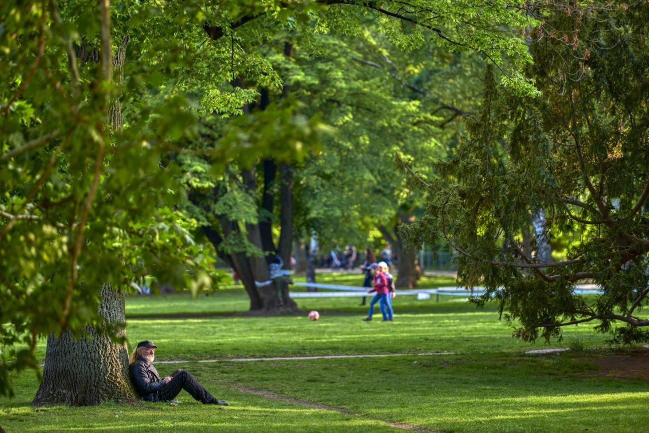 Parque Kampa Praga