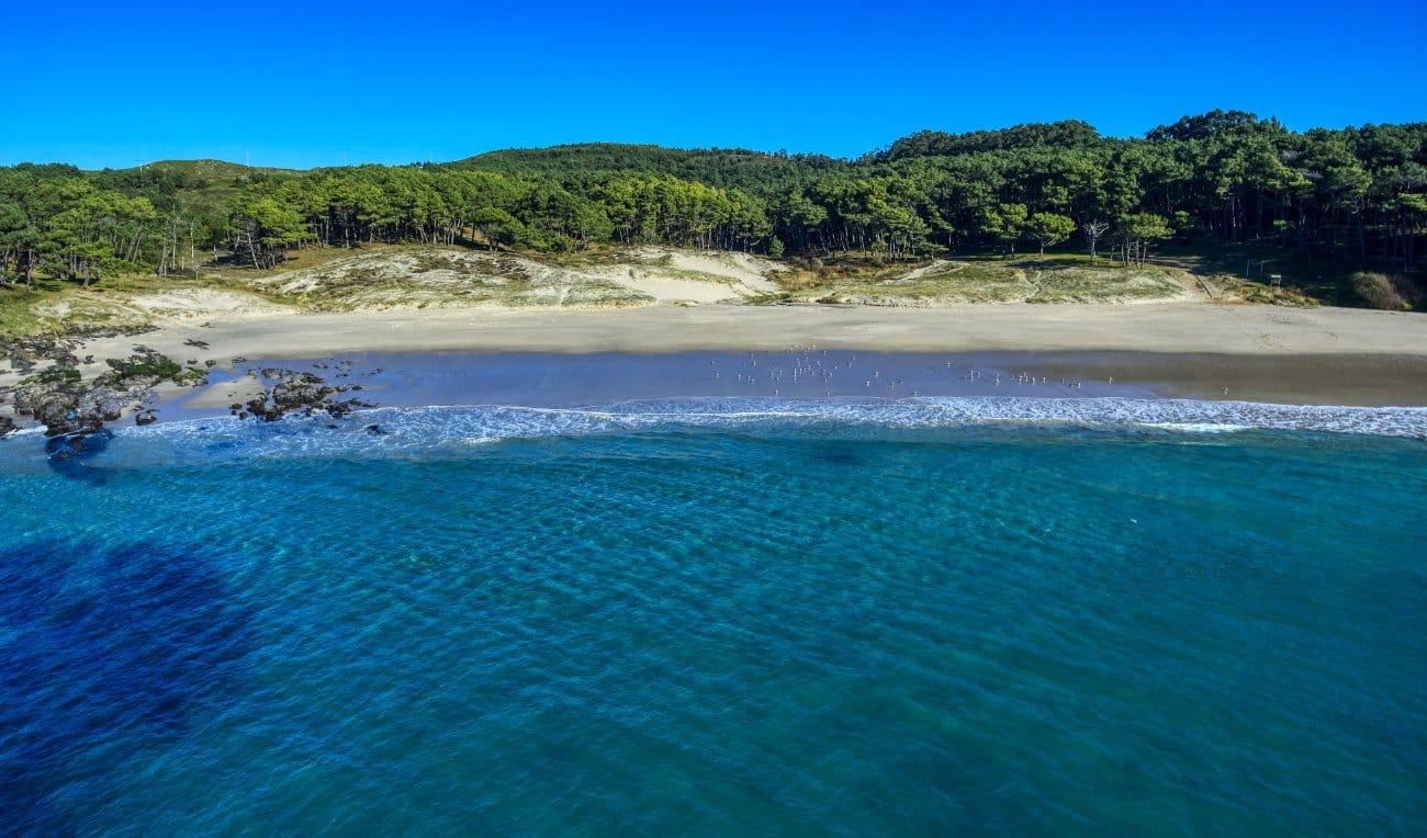 Playa de Melide – Rías Baixas - Cangas