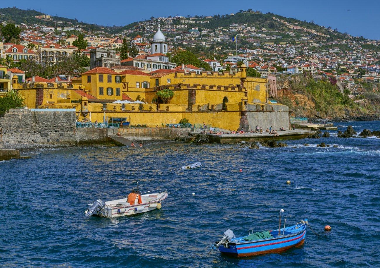 Fuerte de São Tiago Funchal Madeira