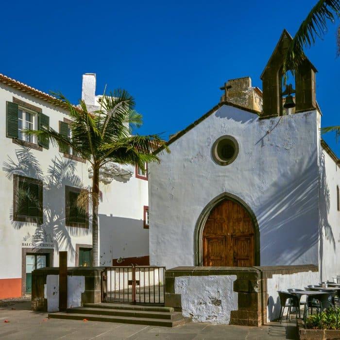 La ciudad vieja Funchal Madeira