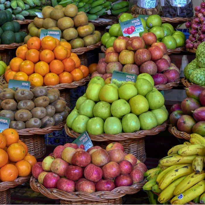Mercado dos lavradores Funchal Madeira