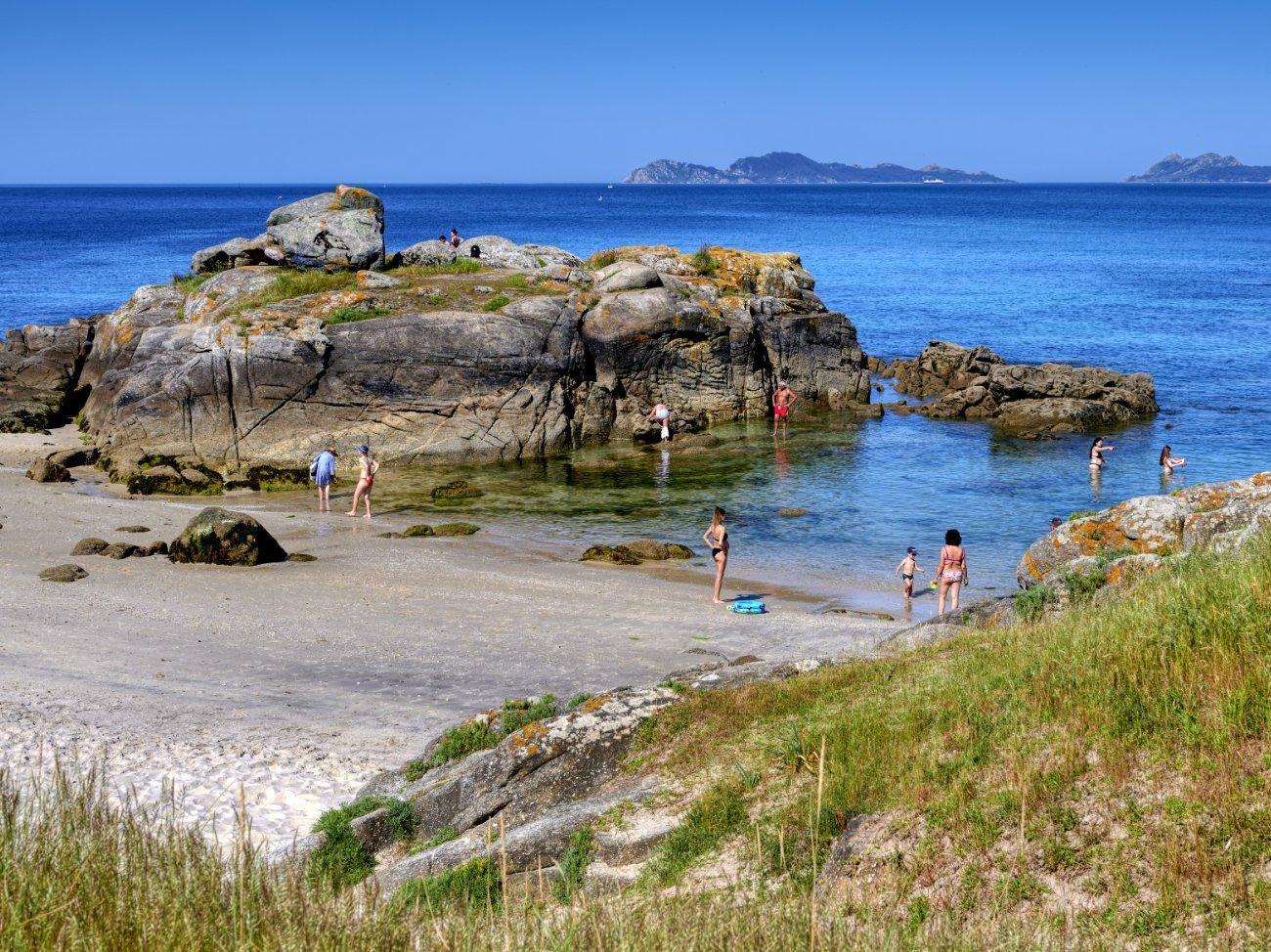 Playa de Samil – Vigo: Playas Rías Baixas