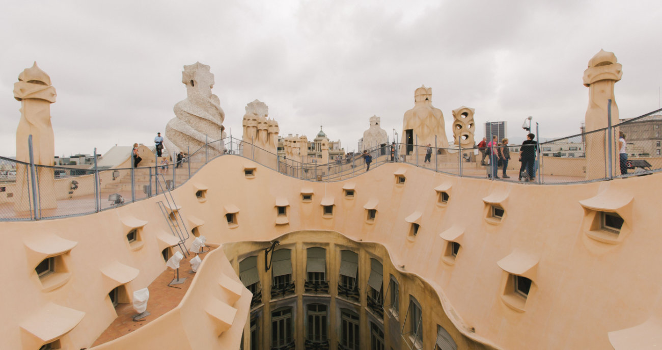 Qué Ver en Barcelona: Casa Milà