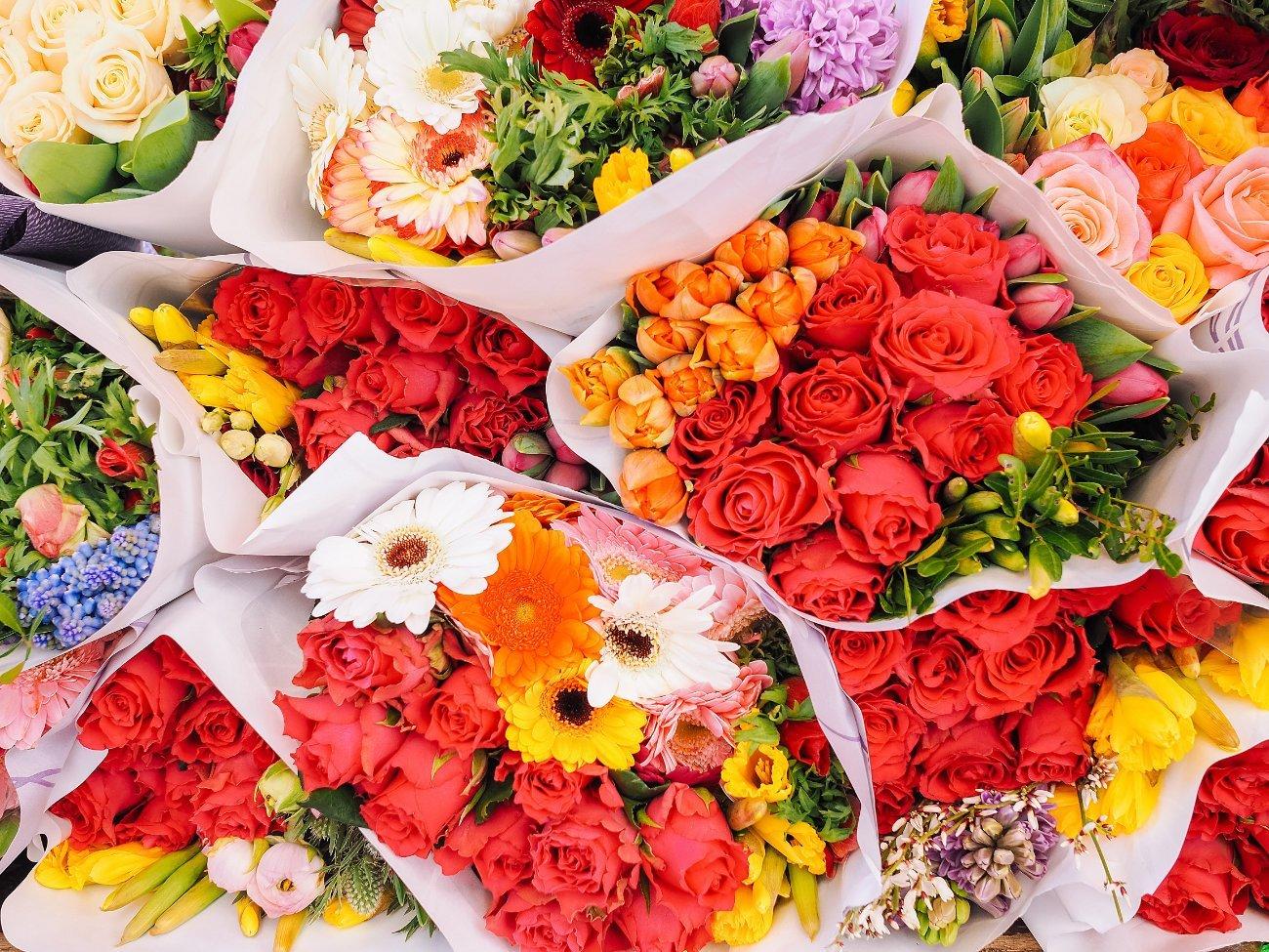 El Mercado de Flores Amsterdam
