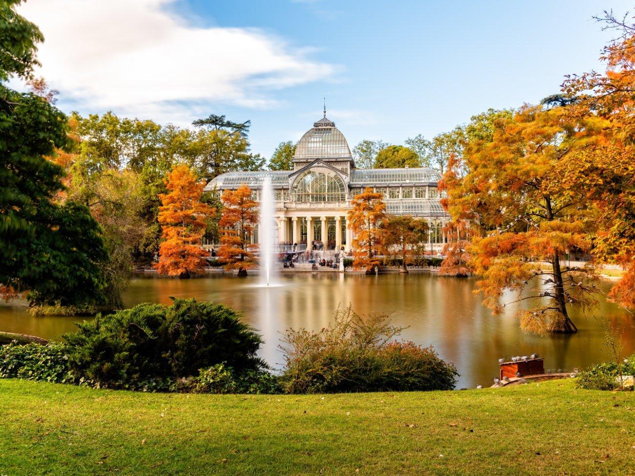 Parque del Retiro Madrid