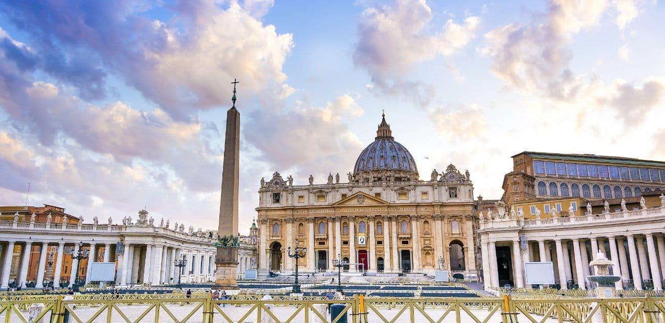 La Basílica de San Pedro Roma