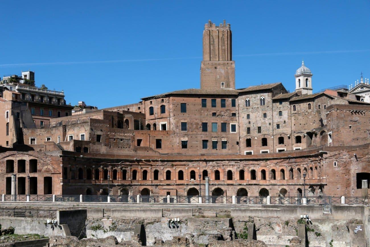 El Mercado de Trajano Roma