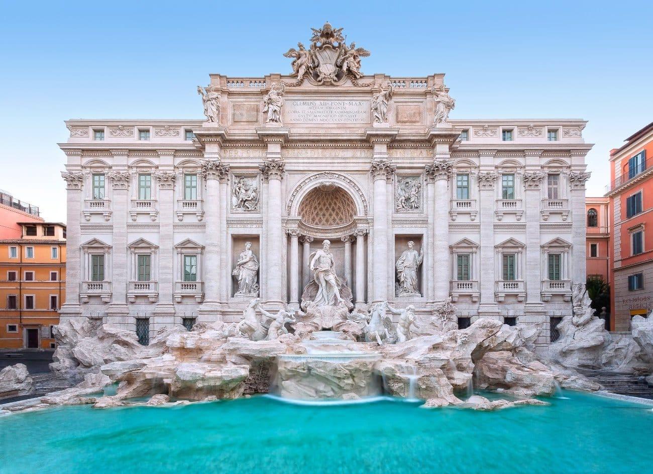 La Fontana di Trevi Roma