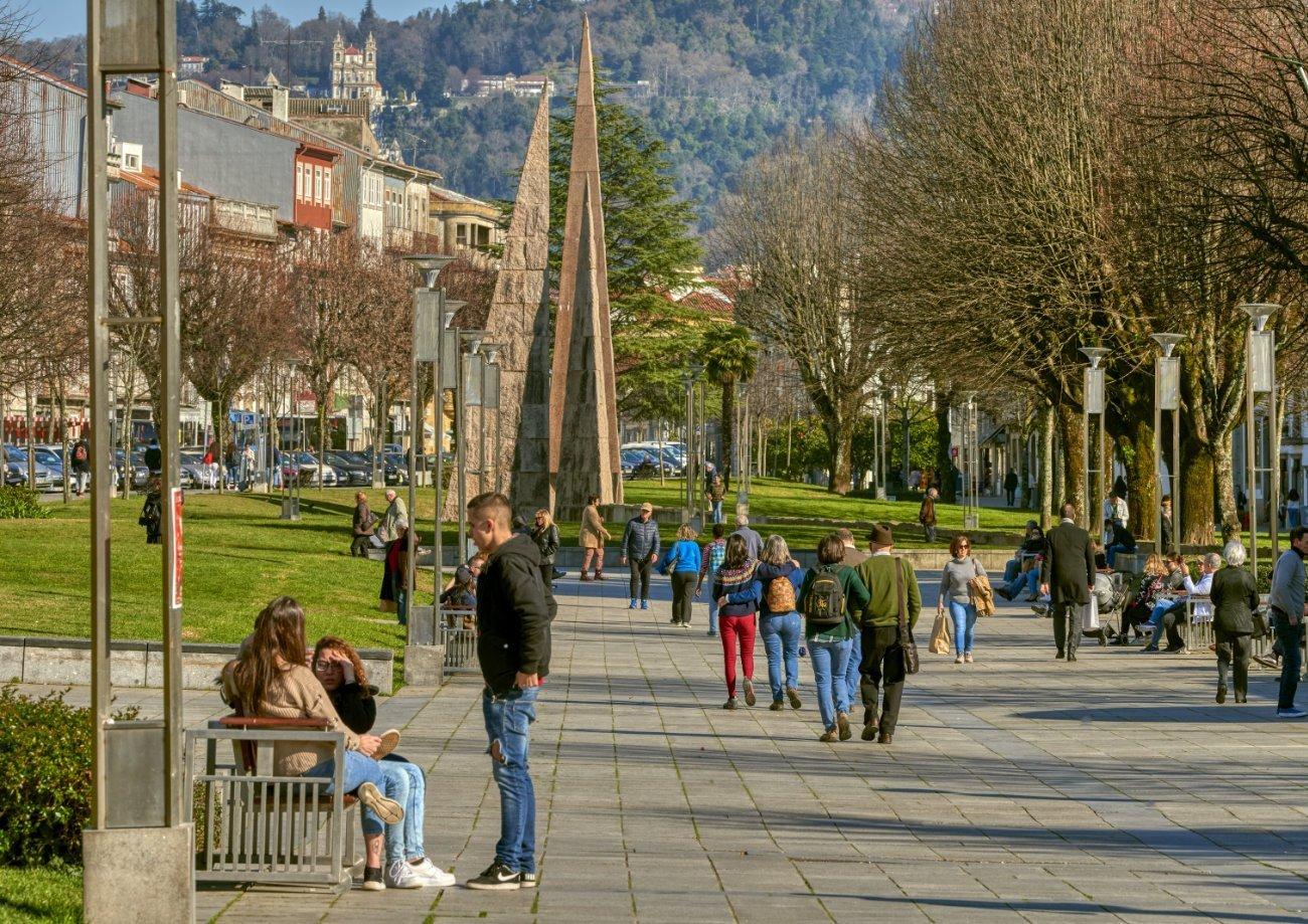 Praza da República Braga