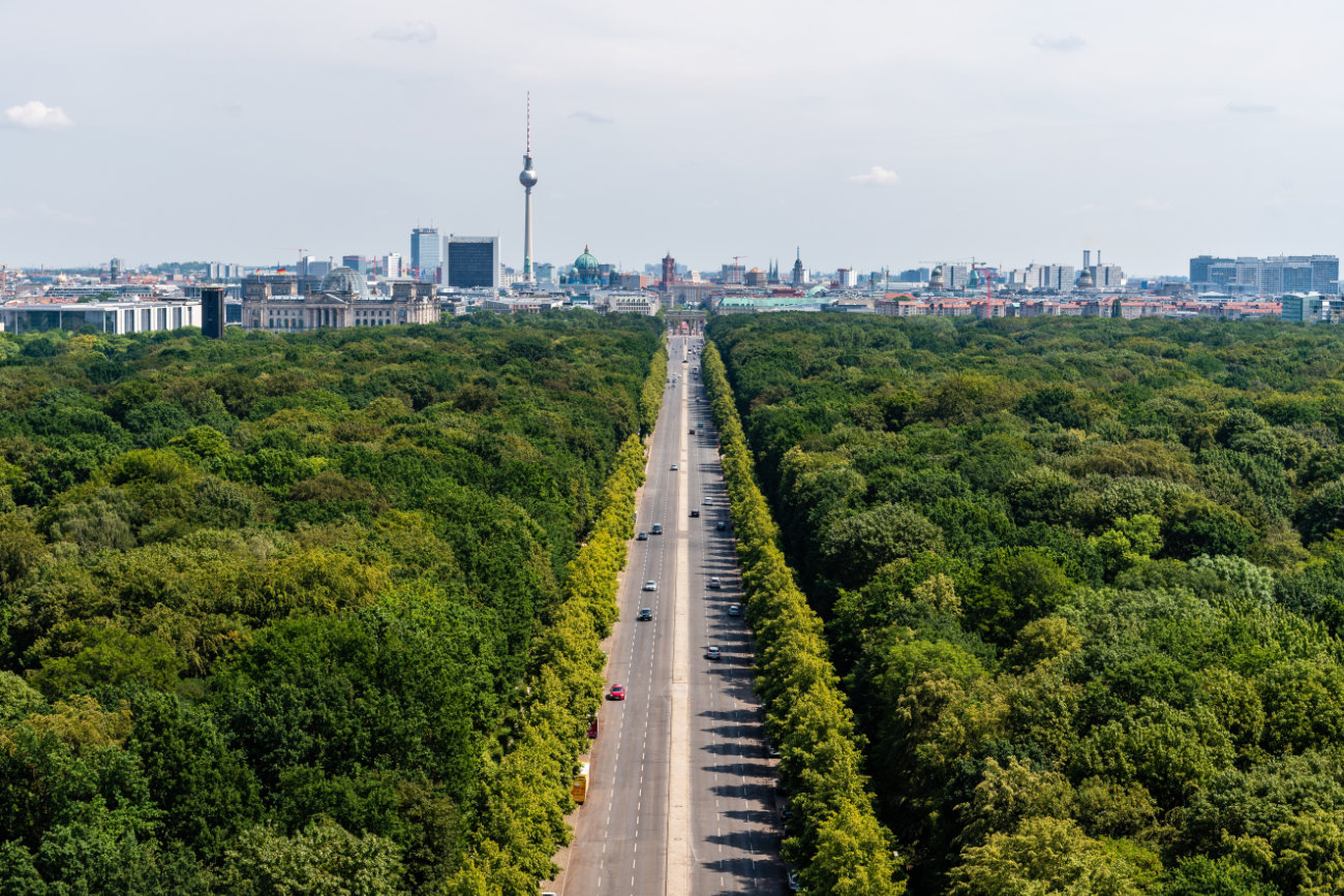 Parque Tiergarten Berlin