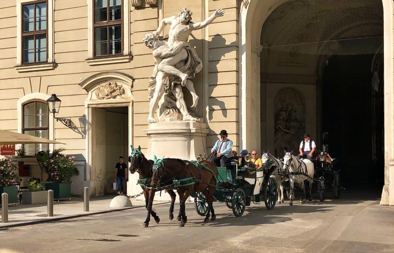 Un paseo en carroza Viena