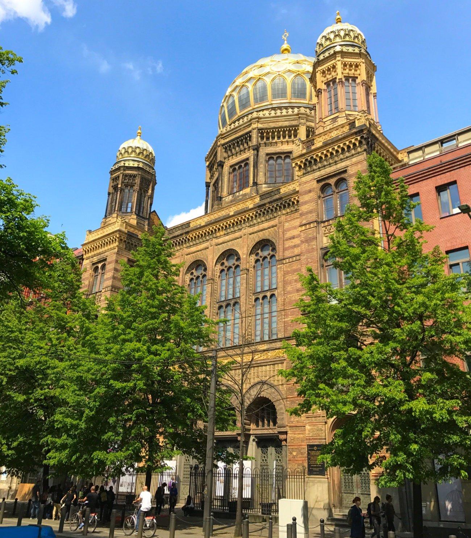 Nueva Sinagoga Berlin