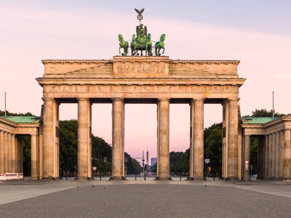 Puerta de Brandeburgo Belin