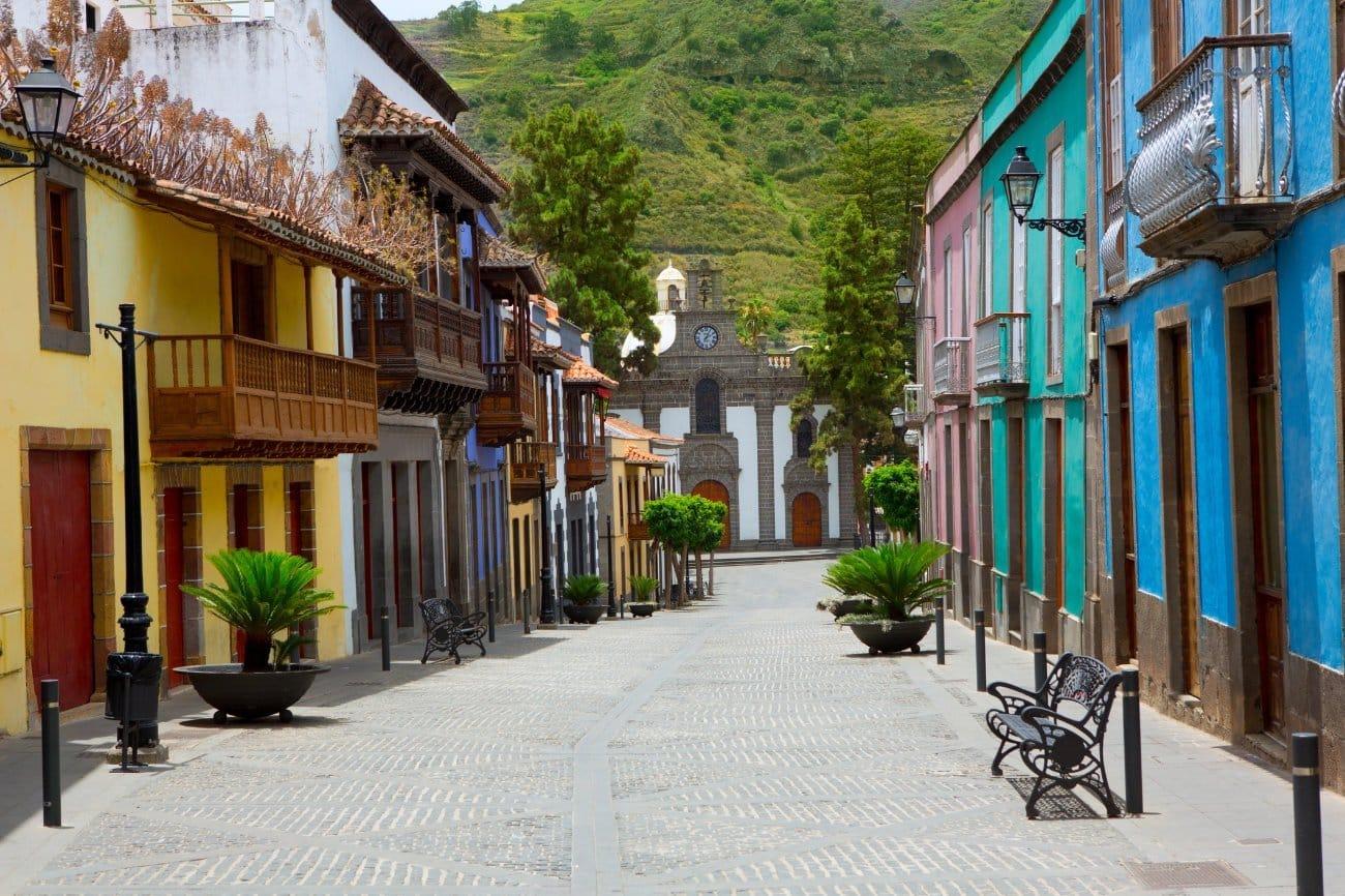 Pueblo de Teror Canarias