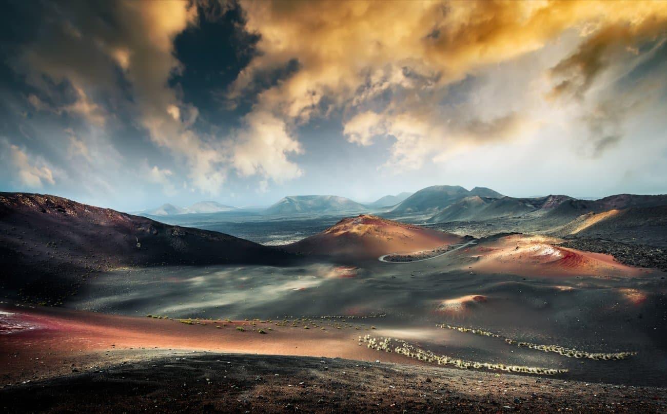 El Parque Nacional de Timanfaya Canarias