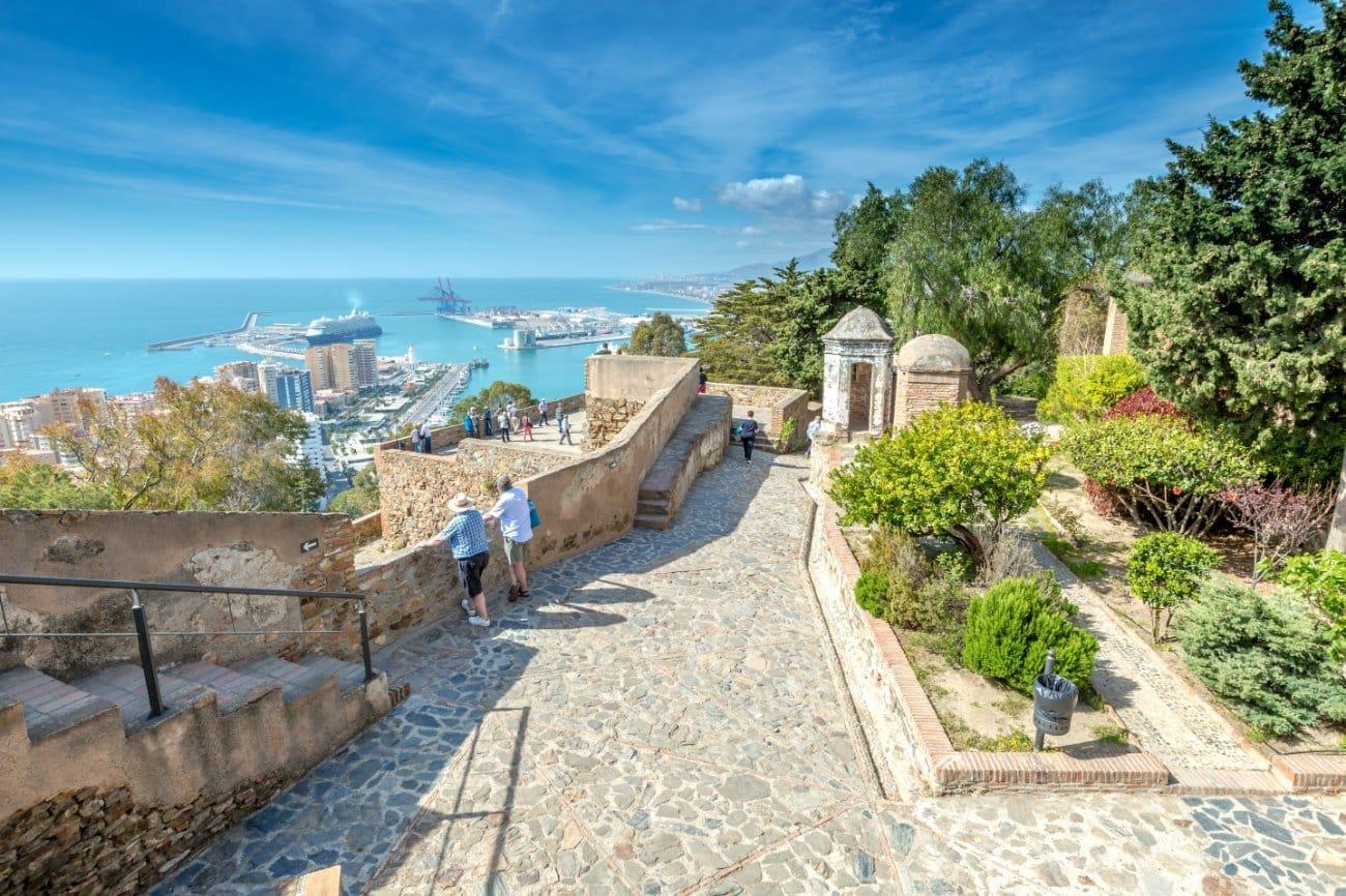 La alcazaba de Málaga Andalucia