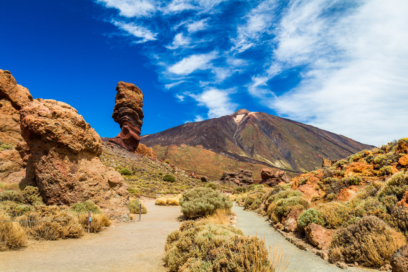 El pico del Teide Canarias