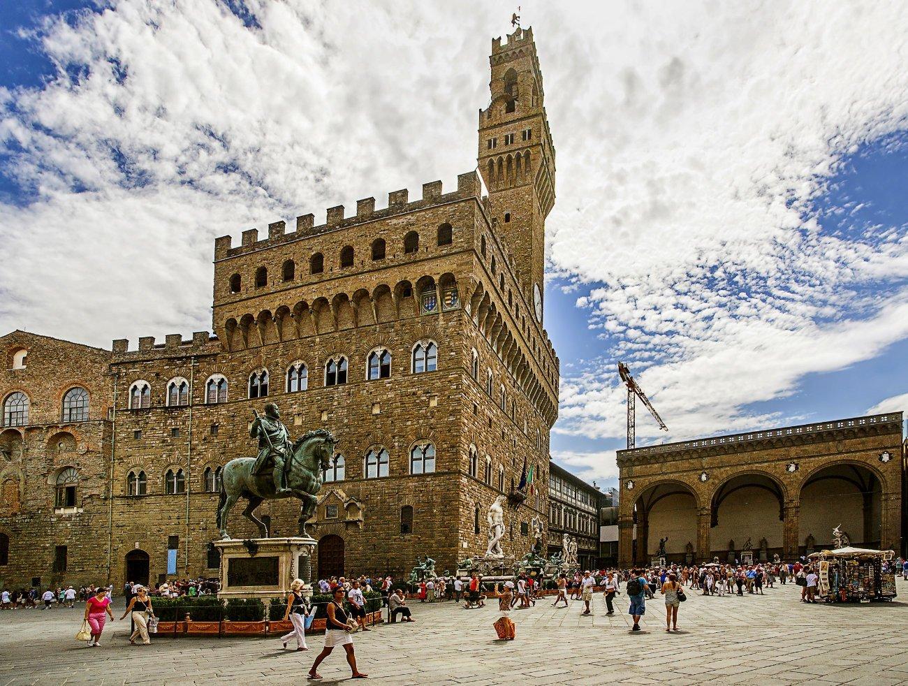 Piazza della Signoria y Palazzo Vecchio