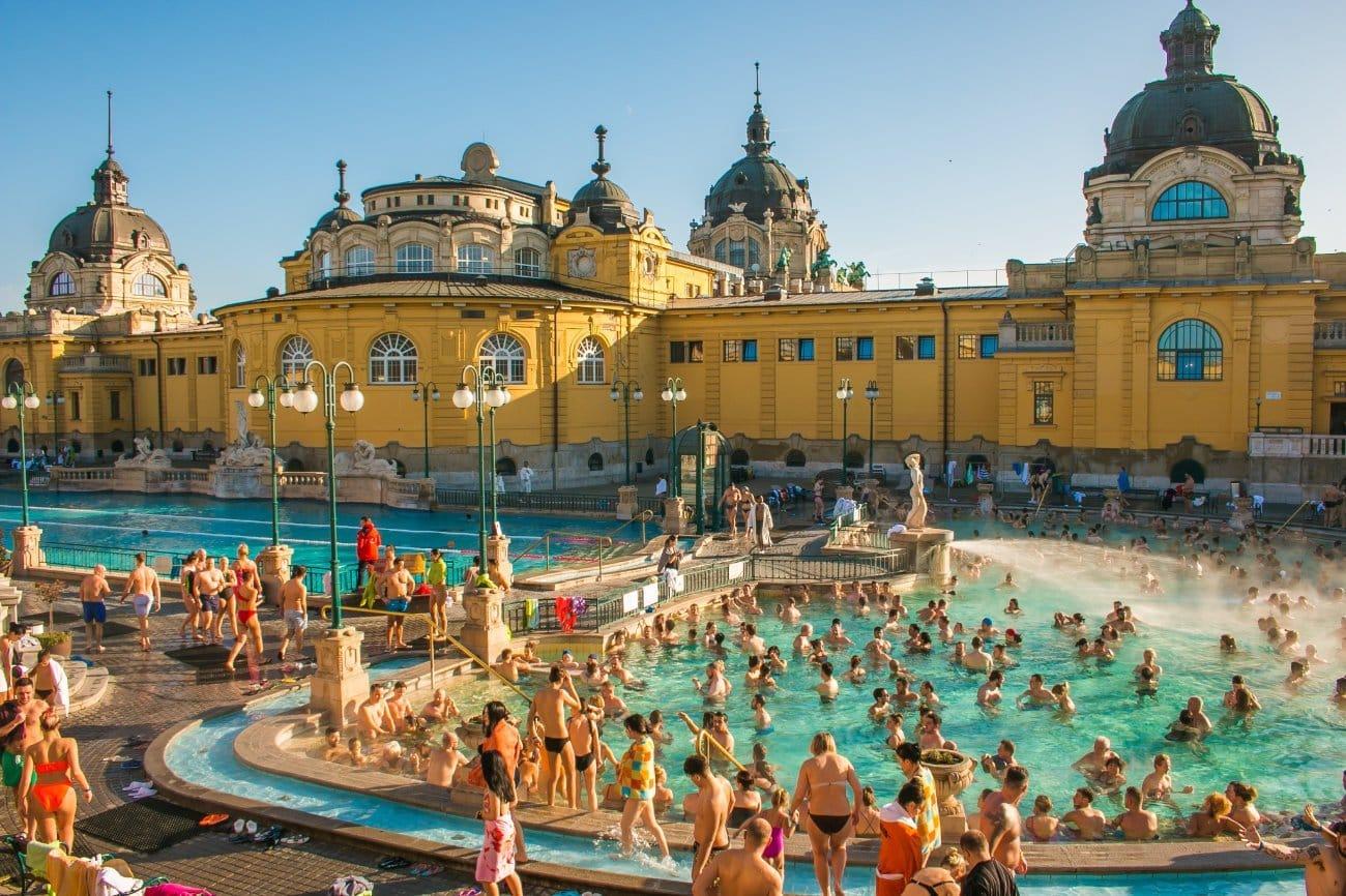 Balneario Széchenyi Budapest