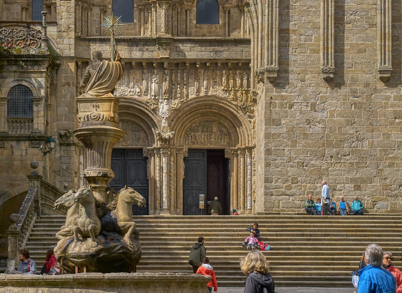 Qué ver en Santiago de Compostela: Plaza de Platerías