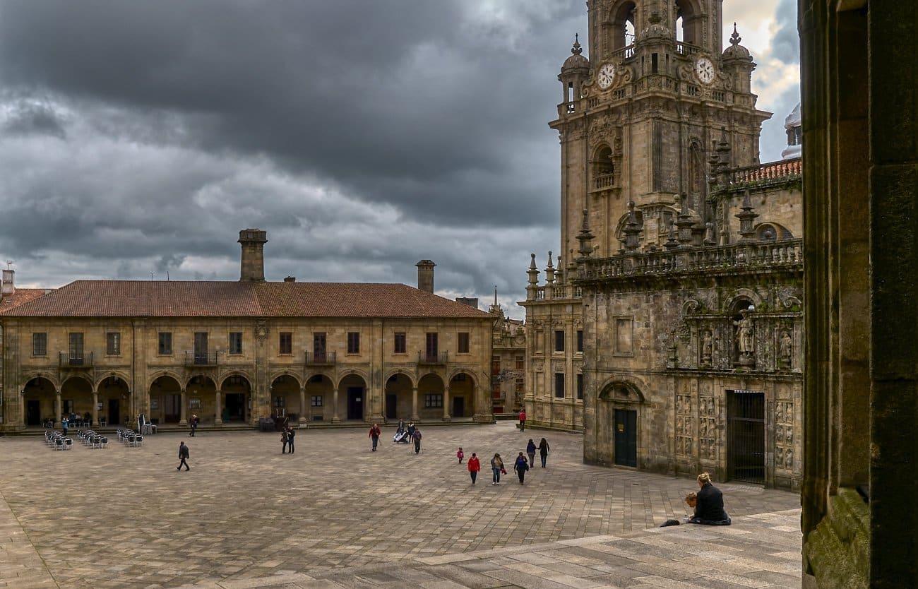 Qué ver en Santiago de Compostela: Plaza de Quintana