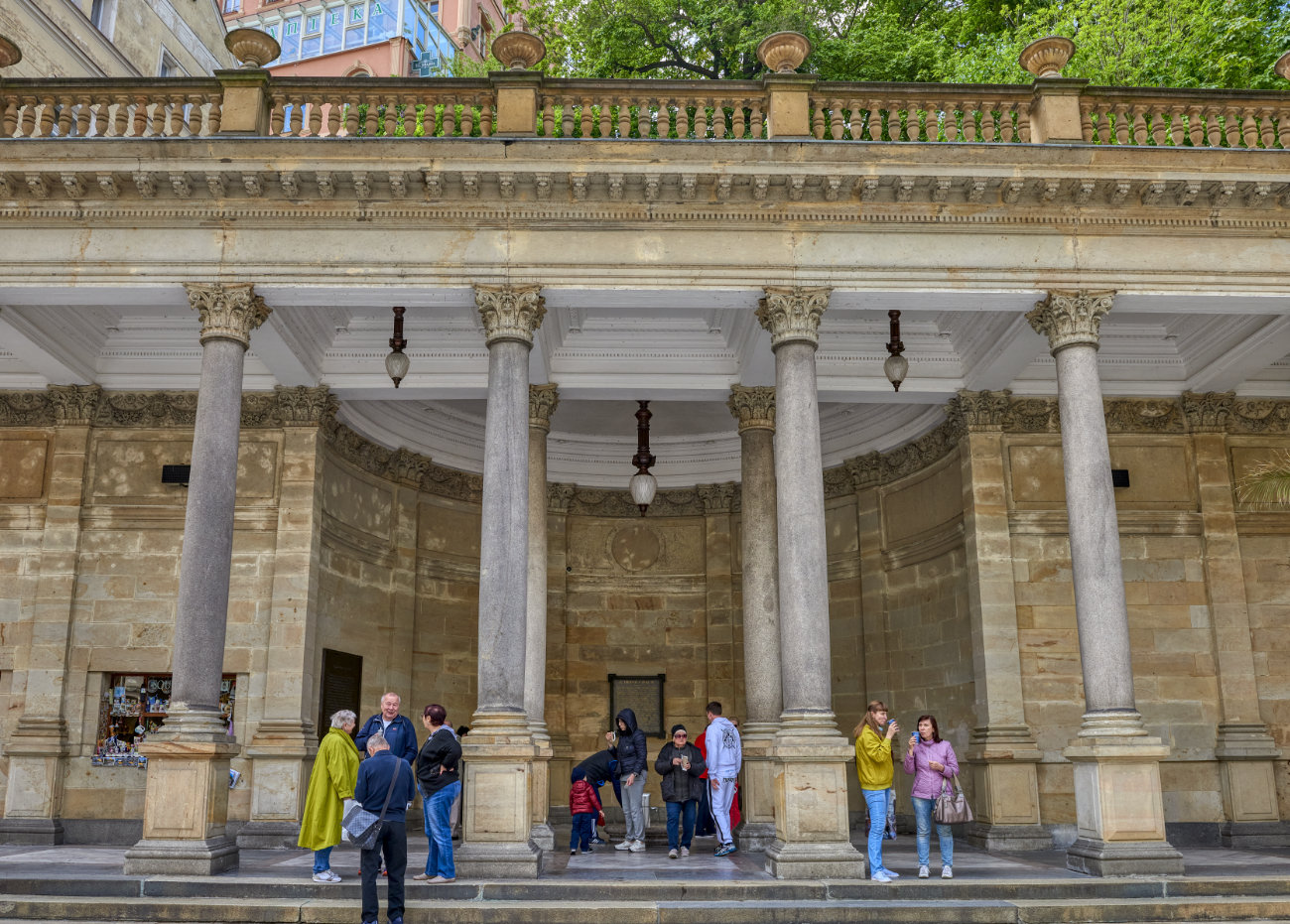 Karlovy Vary Chequia Columnata del molino