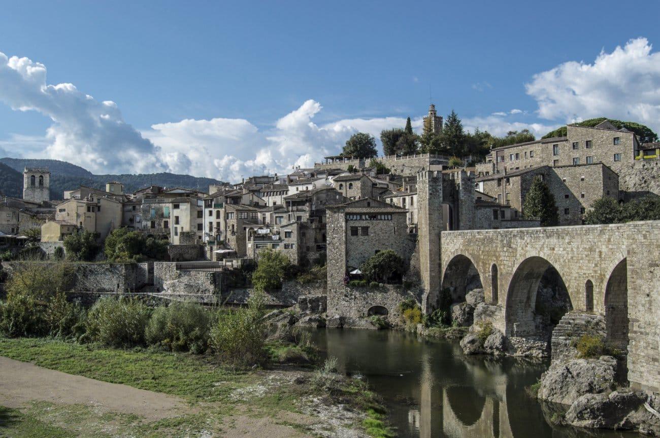 Qué ver en Cataluña: Besalú, Girona