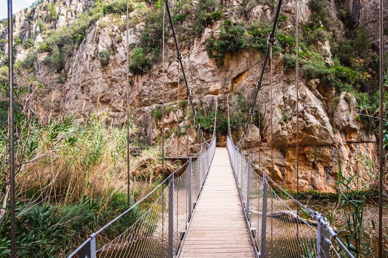 Qué ver en la Comunidad Valenciana: Puentes de Chulilla, Valencia