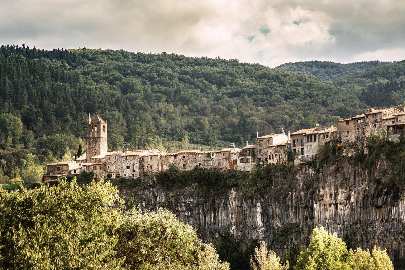 Qué ver en Cataluña: Castellfollit de la Roca, Girona