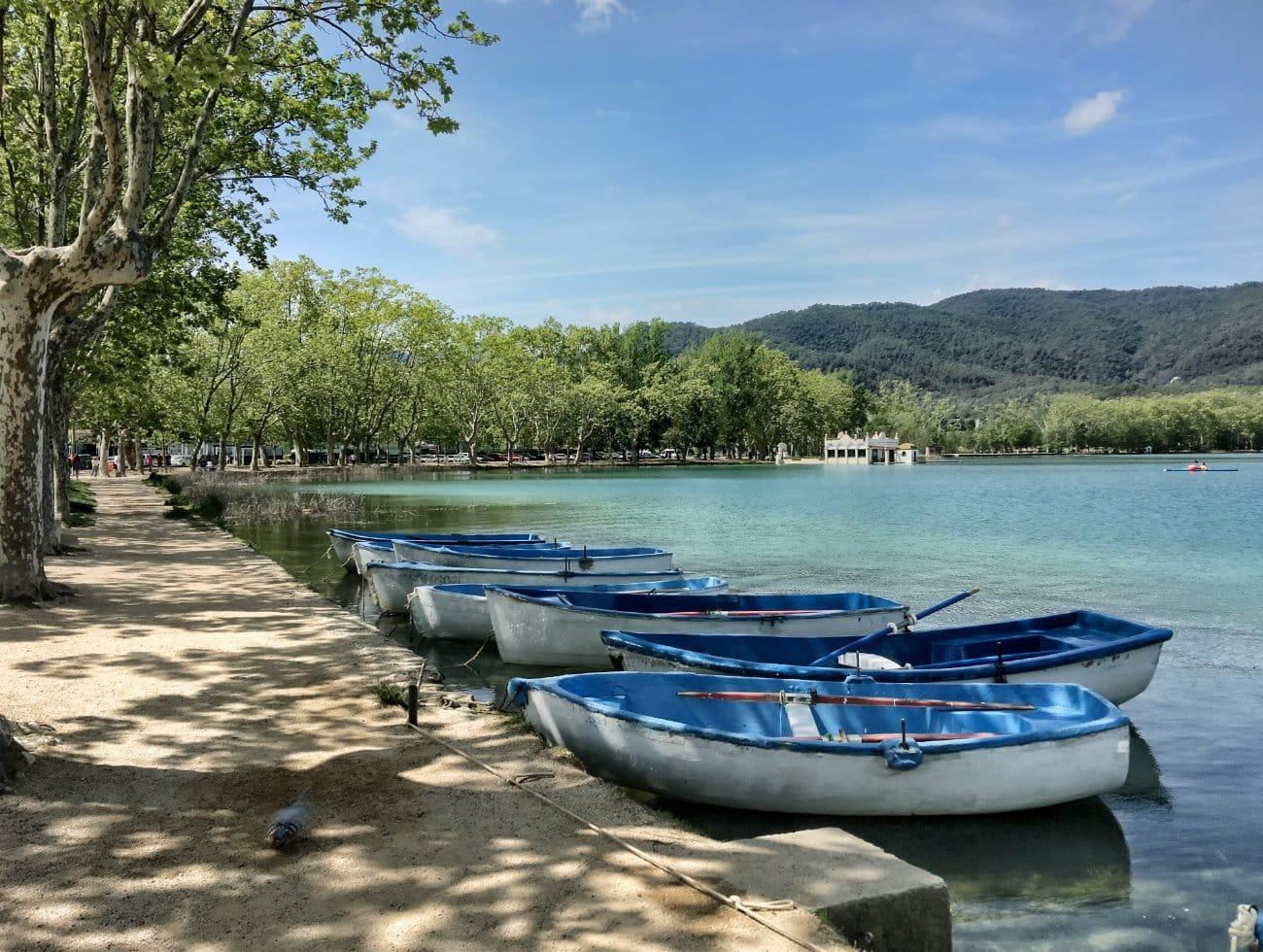 Qué ver en Cataluña: Lago de Banyoles, Girona