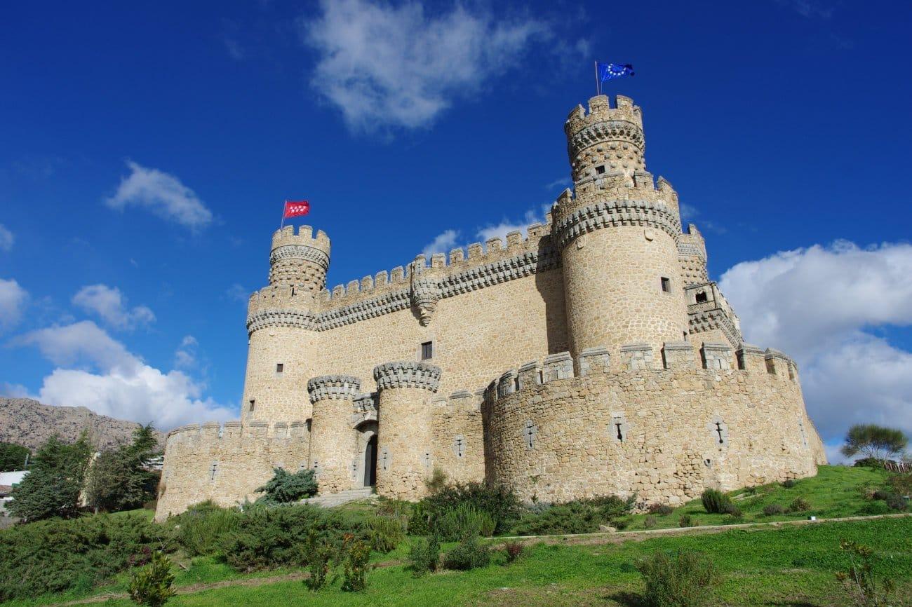 Qué ver en La Comunidad de Madrid: Castillo de Manzanares el Real
