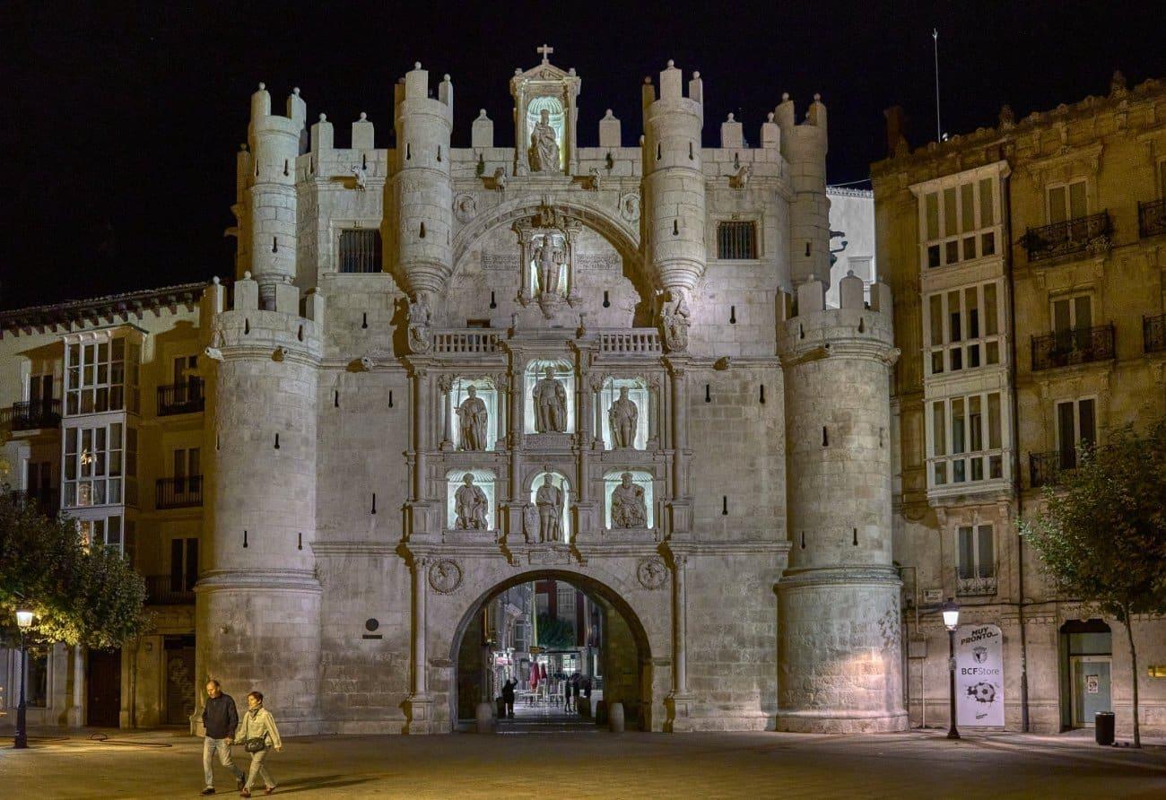 Qué ver en Burgos: Arco de Santa María