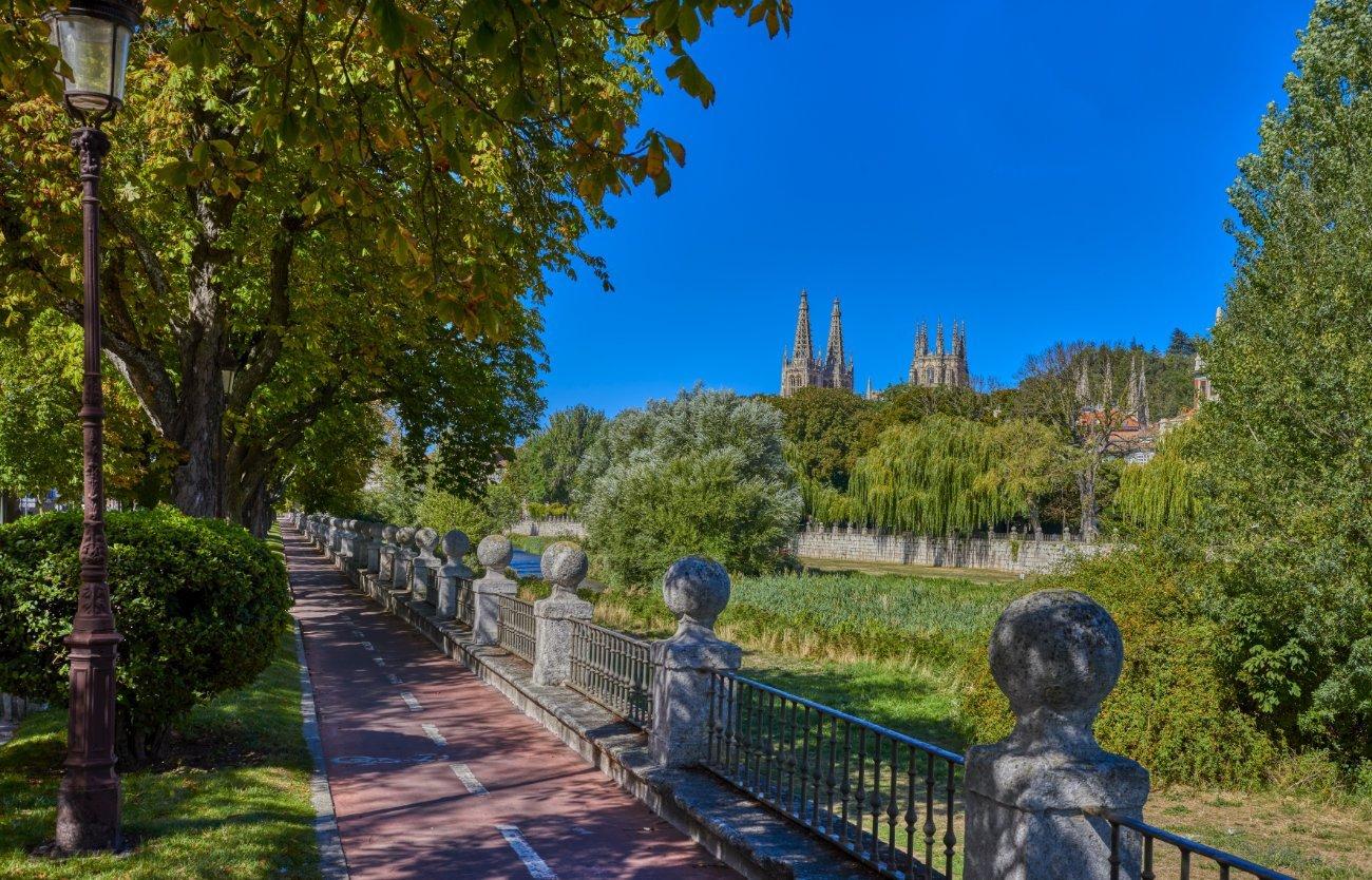 Qué ver en Burgos: Paseo del Espolón